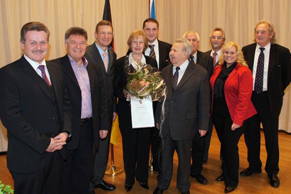 Ingrid Rauber erhält Freiherr vom Stein Medaille
